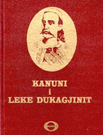 Libri i Kanunit të Lekë Dukagjinit